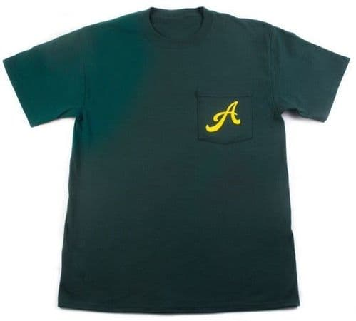 Animal Finest Quality Pocket T Shirt Forest Green Large